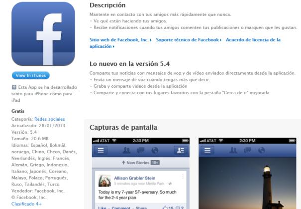facebook 5.4